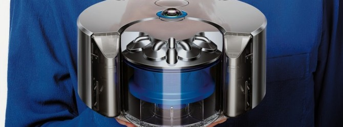 Dyson Eye 360 robot vacuum cleaner