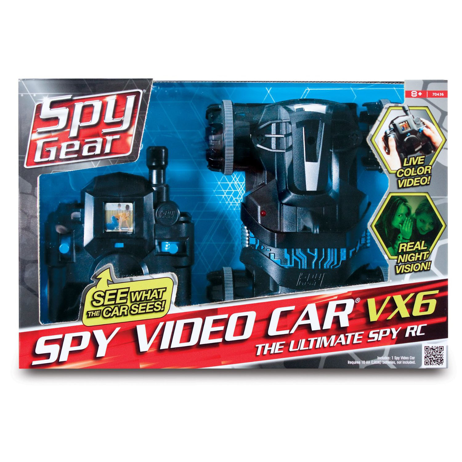 Spy Gear Spy Video Car VX-6 - Myrobothub.com