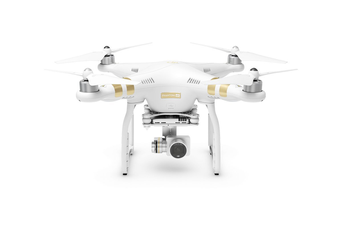 Top 10 drones 2016 - DJI Phantom 3 4K drone