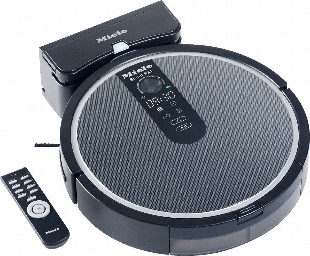 Top 10 Robot Vacuums 2016 - Miele Scout